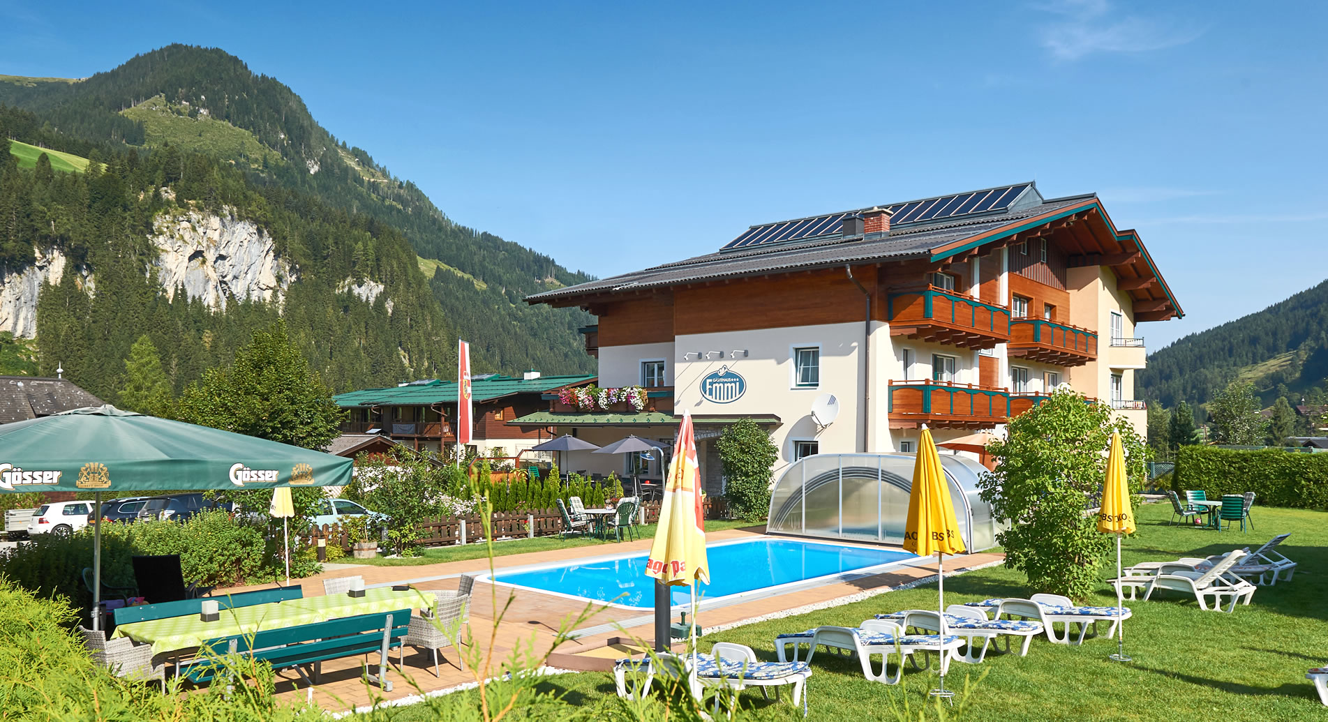 Pension Emmi in Wagrain, mit Swimmingpool